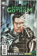 Batman Streets of Gotham #18 NM 2011 DC Comics 1st print Paul Dini Ragman