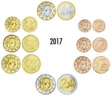 BELGIEN EURO-KMS 2017 AUS ORIGINALROLLEN LOSE 3,88 EURO BANKFRISCH