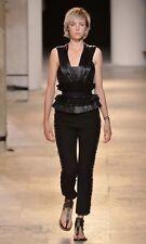Isabel Marant Isiah Embellished Cotton Trousers Size 34/UK6 RRP£585