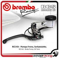 Brembo Kit Pompa Freno Radiale RCS 19+Serbatoio fluido olio freni e staffa supp
