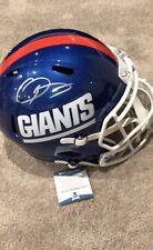 Odell Beckham Jr Giants Helmet Full Size Autographed Signed Beckett COA NFL