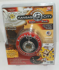 Kansas City Railroad Pocket Watch, As Seen on T.V. , New in Package
