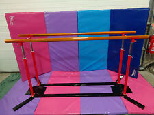 NEW GYMNASTICS GYM PROFESSIONAL PARALLEL BARS BY SLIM-GYM - 'NEW RANGE' LIMITED