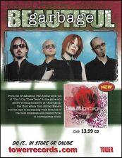 Shirley Manson Garbage band 2001 Beautiful ad 8 x 11 advertisement print