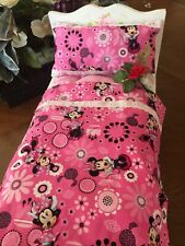 """Dolls' Bedding Set~Minnie Mouse Theme~12""""x20"""" Mattress-Pillow and Bedcover~"""