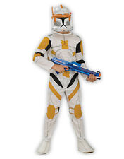 "STAR Wars Kid CLONE WARS TROOPER CODY Costume S1, S, Età 3-4, altezza 3' 8 "" - 4"""