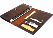 Genuine Leather Case For Samsung Galaxy Note 2 3 Wallet Handmade Soft Cover Slim