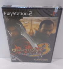 ONIMUSHA 3: Demon Siege (Sony PlayStation 2 2004) FACTORY SEALED!! PS2