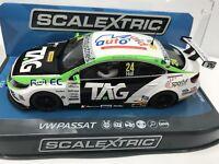 Scalextric VW Passat CC NGTC BTCC17 #24 HD C3918