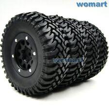 4Stk RC Crawler 1.9 Reifen Tire 100mm & 1.9 Beadlock Rims Felgen Für RC4WD Axial