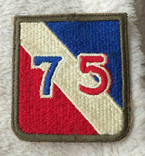 WK2 US Armabzeichen 75th Inf Div