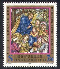 Austria 1997 ST Petrus/Santi/Religione/arte/DIPINTI/PEOPLE 1v (n38766)