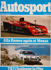 Autosport 28 Apr 1977 - Monza WSCC Brambilla, Isle of Elba Rally, Salzburgring