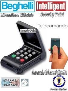 BEGHELLI INTELLIGENT TELECOMANDO ANTIFURTO 8074 ALLARME GARANZIA 24 MESI FATTURA