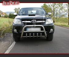 TOYOTA HILUX 2005-2011, BULL BAR, NUDGE BAR, A BAR + GRATIS!!! STAINLESS STEEL