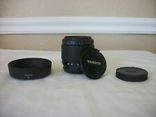Tamron AF 28-80mm f/3.5-5.6 Aspherical Lens w Hood  Sony Konica Minolta Camera