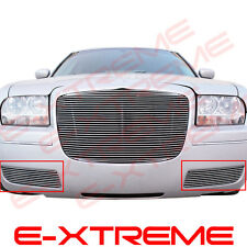 BILLET GRILLE GRILL FOR CHRYSLER 300 05-2010 BUMPER(COVER THE FOG LIGHTS)