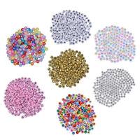 200 Stück Buchstabenperlen Acryl Alphabet Perlen Schmuckperlen für Armbänder