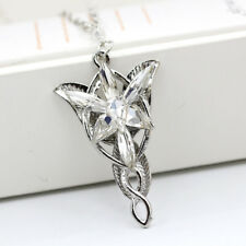 Classic The Lord of the Ring Arwen Evenstar Pendent Necklace Crystal Twilight