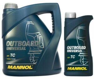 Mannol Outboard Universal 2-Stroke Marine Engine Oil, API TC, NMMA TC-W2