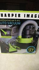 SHARPER IMAGE Portable Multi Function Wet & Dry Auto Car Boat RV Vacuum 12V DC