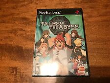 Tales of the Abyss (Sony PlayStation 2, 2006) Complete CIB Ps2