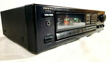 Vintage Onkyo TX-900 Quartz Synthesized Tuner Amplifier Working GREAT