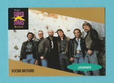 MUSIC / POP  STARS - PRO SET - MUSICARD  -  NO. 5 -  THE DOOBIE BROTHERS  - 1991