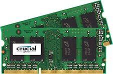 Crucial 8GB Kit (4GBx2) DDR3L 1600 MT/s (PC3L-12800) SODIMM 204-Pin Memory - New