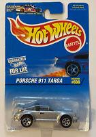 1997 Hotwheels Porsche 911 Targa Silver, Mint! MOC! Very Rare!