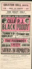 CILLA BLACK & PJ PROBY (1965) HANDBILL and AUTOGRAPHS