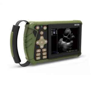 Portable Veterinary ultrasound Diagnostic Scanner Palm Mechanical Sector Probe
