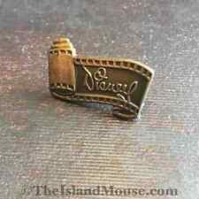 Walt Disney WDCC Signature Bronze Scroll Pin (UF:285)