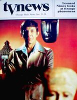 TV Guide 1978 In Search Of Spock Leonard Nimoy Regional Star Trek NEAR MINT COA