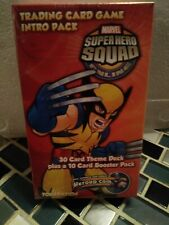 Upper Deck Super Hero Squad TCG Trading Card Game Intro Pack Wolverine