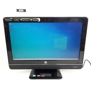 "HP OMNI 100-5050 20"" AIO AMD ATHLON II X2 260U 8GB 500GB WIN 10 WEB CAM H763"