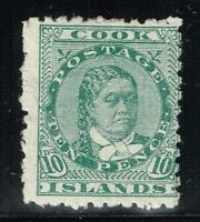 Cook Islands SG# 35 - Mint Hinged (Hinge Rem / Small Gum Ink Spot) - Lot 122715