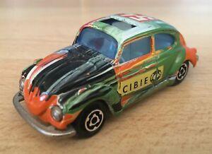 Majorette 1/60, #202  VW Volkswagen 1302  Beetle  Cibie