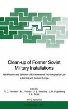 Clean-Up of Former Soviet Military Installations : Identification and...