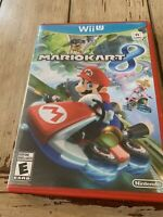 Mario Kart 8 (Nintendo Wii U, 2014) With Red Case - Tested With No Scratches