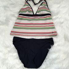 Nautica Women's Halter Tankini Swimsuit Size 14