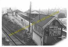 Heath Railway Station Photo. Pilsley to Grassmoor and Arkwright. GCR. (5)