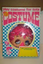 Vintage 70's RAGGEDY ANN ben cooper halloween play costume for tots 174 andy
