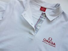 Omega Olympics London 2012 White Polo Shirt Ladies Large Sealed