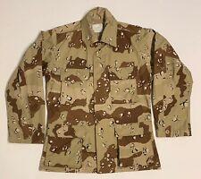 Original Desert Storm Chocolate Chip Camo Combat Shirt, Small Regular