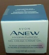 Avon Anew Hydra Fusion  Gel Cream 72 hour Continuous Hydration New Fresh Sealed