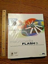 BRAND NEW SEALED Macromedia Flash 5 for Windows 95 98 NT compatible SEE PICS!!!!