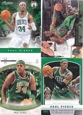 4 Cards - Paul Pierce - Prospects, Upper Deck, Presitge, Panini - Boston Celtics