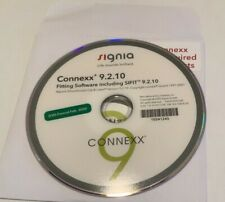 Signia Hearing Aid Programming Software Connexx 9.2.10 DVD 2020 Release