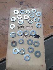 NOS Kawasaki OEM 5mm Plain Washer KLT200 KZ1000 F3 F4 H1 F12 F9 411B0500 QTY27